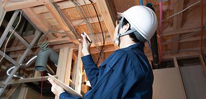実務経験豊富なプロがお客様の家を徹底的に調査!