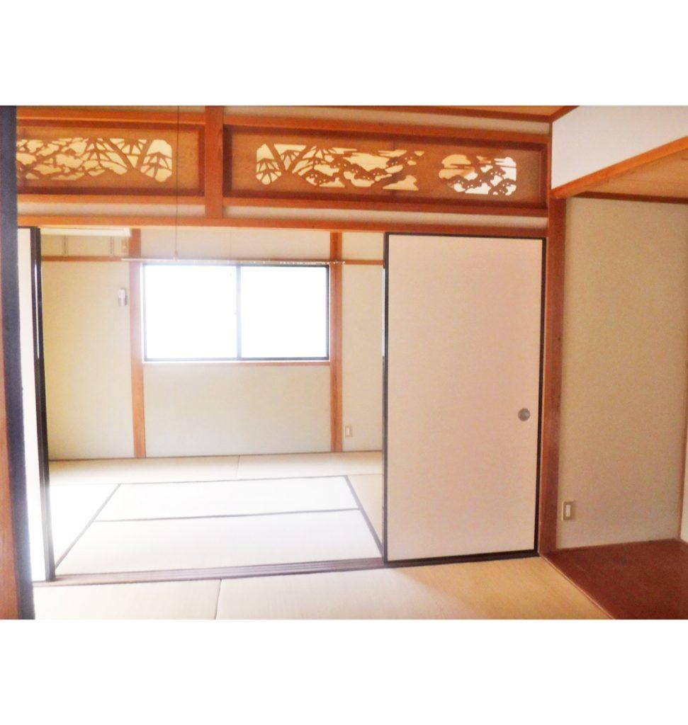 和室2間続きを今後フル活用したいので、床、壁、天井をリフォームしたい。