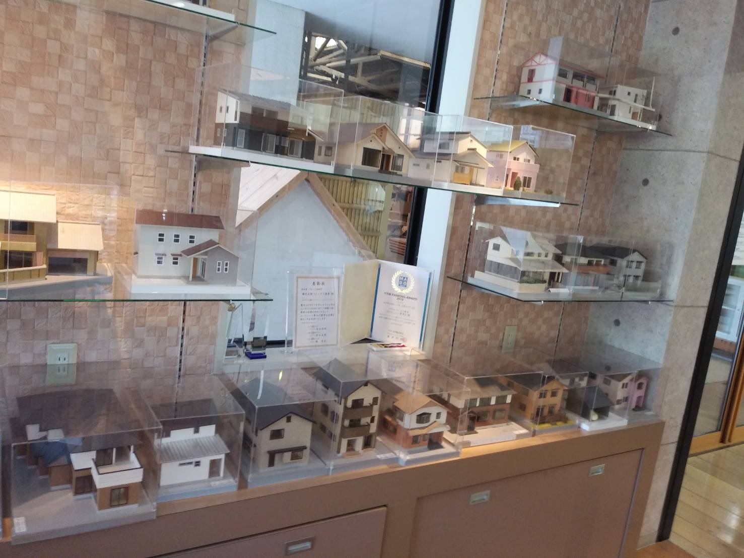 模型展示 唐津市ショールーム