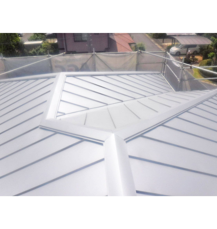 屋根板金カバー工法工事