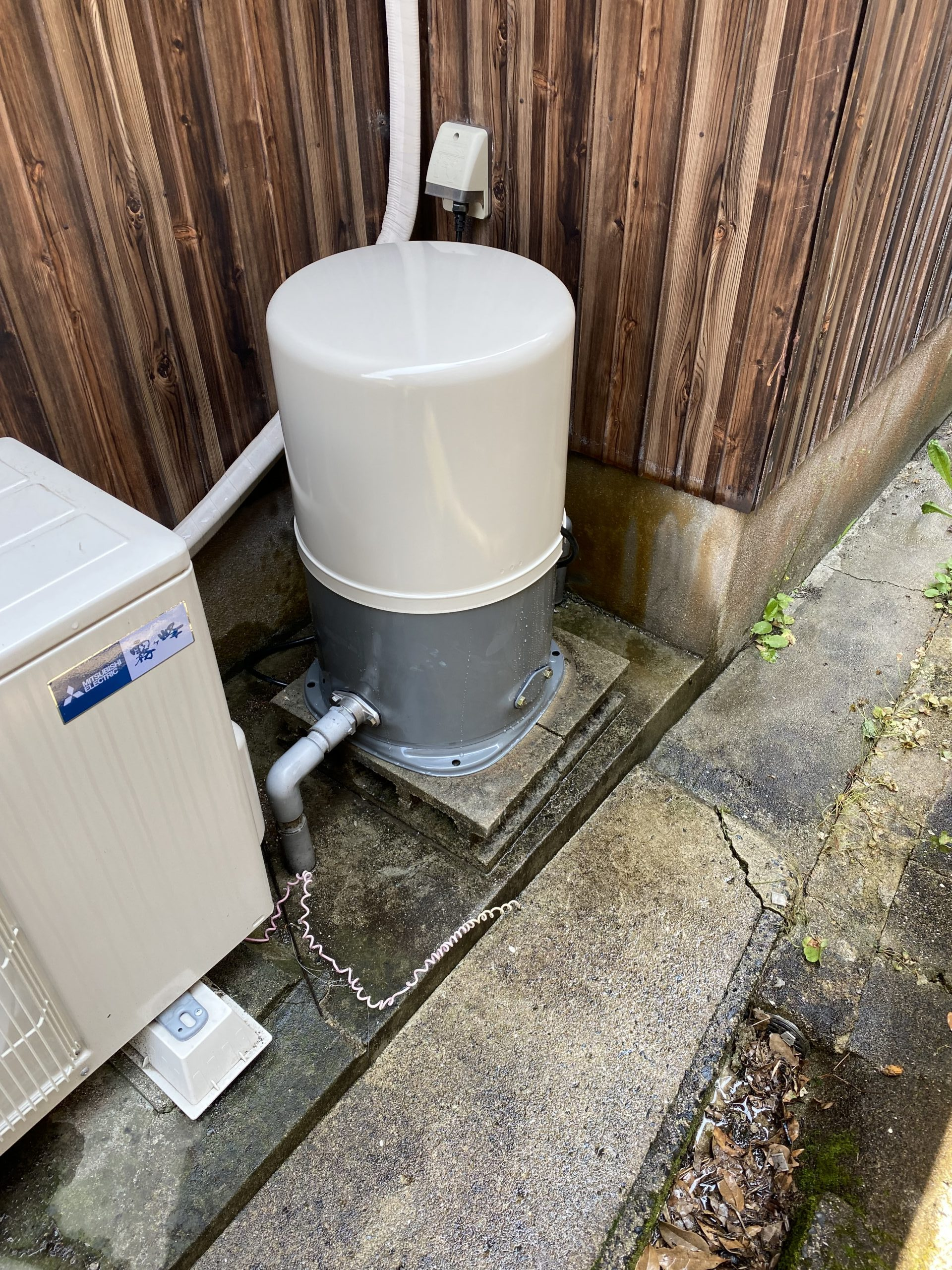井戸ポンプ取替工事 #唐津市リフォーム 井戸ポンプ
